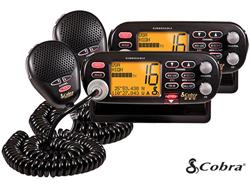 Cobra MRF75BD (2 Pack) Marine Radio
