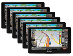Cobra 6500PROHD (6 Pack) Professional Trucker GPS