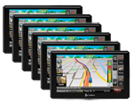 Cobra 8500PROHD (6 Pack) Professional Trucker GPS